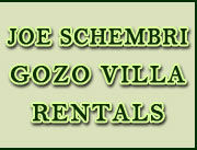 Joe Schembri Gozo Villa Rentals, Self-catering house of character, villa and farmhouse accommodation and villa rental for your holiday in Gozo, Malta.